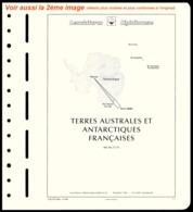 LEUCHTTURM N° 15 TA - Page De Garde Pré-impriméeTerres Australes Et Antarctiques Françaises   ..Réf.DIV20176 - Albums & Reliures
