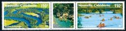 NOUV.-CALEDONIE 2010 - Yv. 1094 Et 1095 **   Faciale= 1,84 EUR - Tryptique Rivière La Dumbéa  ..Réf.NCE25662 - New Caledonia