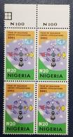 NIGERIA 2001 BLOCK BLOC - DIALOGUE AMONG CIVILIZATIONS JOINT ISSUE - RARE MNH - Emissions Communes