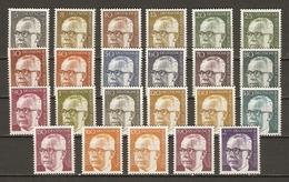 Allemagne Berlin 1970/3 - Président Heinemann - Série Complète MNH 339/52 - [5] Berlín