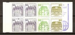 Allemagne Berlin 1982 - Châteaux - Carnet MNH - C633b - Booklets