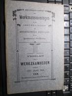 Werkmanswoningen 1910 Lokeren Beveren Temse Stekene Kieldrecht Melsele 33 Blz Onderlinge Bijstand - Livres, BD, Revues
