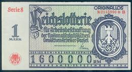"Deutschland, Germany - "" REICHSLOTTERIE "", Abschnitt B,  "" ORIGINALLOS, FOTO & DOKUMENT Der NSDAP "" 1938 ! - Zonder Classificatie"