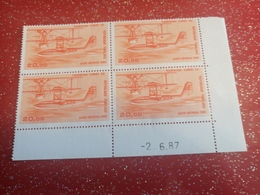 Poste Aérienne Numéro 58 Coin Datés - Airmail