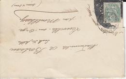 Curiosité Oblitération  1907  Montlhery Et Rochefort Sur Mer Voir Détail - Lettres & Documents