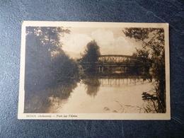 Cpa 08 Senuc Pont Sur L Aisne - France