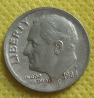 1984 P.... One Dime Circulated - Federal Issues