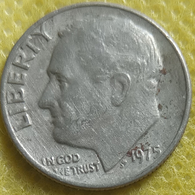 1975.. One Dime Circulated - Federal Issues