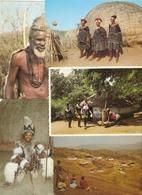 South Africa : Zulu / Zoulou / Natal : ---  9 Cards - Afrique Du Sud