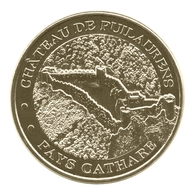 Monnaie De Paris , 2013 , Lapradelle-Puilaurens , Château De Puilaurens , Vue Aérienne - Monnaie De Paris