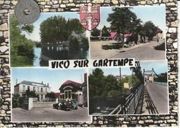 86 - Carte Postale Semi Moderne Dentelée  De  VIC SUR GARTEMPE    Multi Vues - France