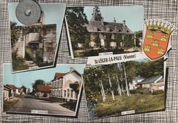86 - Carte Postale Semi Moderne Dentelée  De  SAINT LEGER LA PALU    Multi Vues - France