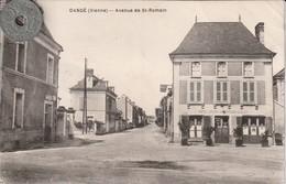 86 - Carte Postale Ancienne  De DANGE   Avenue De Saint Romain - France