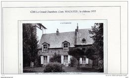 63 - MAZAYES - Grand-Chambois -  Le Chateau - France