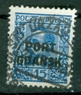 Port Gdansk  Michel  24  Ob  TB - Danzig