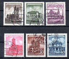 """(DDR-BM1) DDR """"Wiederhergestellte Historische Bauwerke"""" Mi 491/96 Sauber Bedarfsgestempelt - [6] Democratic Republic"""