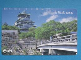 JAPAN PHONECARD NTT 331-389 CASTLE - Giappone