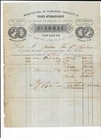 Haute Garonne 31 Toulouse Usine Hydrolique Manufacture De Planchers Parquets Ramier Du Moulin Du Chateau - 1800 – 1899