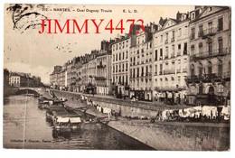 CPA - NANTES 44 Loire Inf.- Les Lavoirs Quai Duguay -Trouin En 1908 - N° 212 - Coll. F. Chapeau Nantes - Nantes