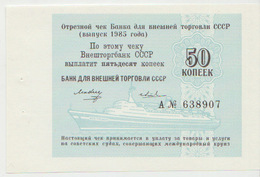 Russia 50 Kopeks 1985 Pick FX143 - Russia