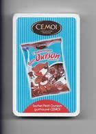 """Jeu De 32 Cartes à Jouer Sous Céllophane """" Cémoi Chocolat Français. Authentique Petit Ourson """" - Jeux De Société"""