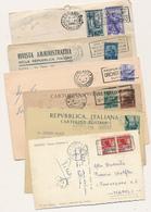 REPUBBLICA LOTTO DI 92 ANNULLI A TARGHETTA PUBBLICITARI - 6. 1946-.. Repubblica