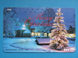 JAPAN PHONECARD NTT 111-007 MERRY CHRISTMAS - Giappone