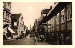 Detmold, Bruchstrasse, Geschäfte, Ca. 50er Jahre - Detmold