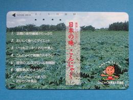 JAPAN PHONECARD NTT 110-108609 PLANTATION - Giappone