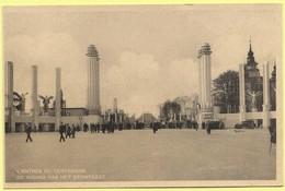 0476 - BELGIE - BRUSSEL - EXPO 1935 - DE INGANG - L'ENTREE - Belgien