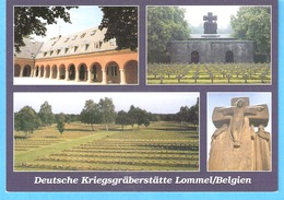 Militaria-Oorlog-1940-1945-Lommel-België-Belgien-Deutsche Kriegsgräberstätte-Kerkhof-Cimetière Militaire Allemand-(scan) - Soldatenfriedhöfen