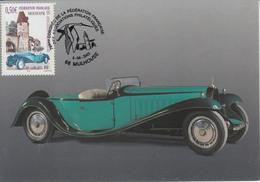 Carte-Maximum FRANCE N°Yvert 3576 / Mulhouse, Musée De L'automobile, Bugatti - 2000-09