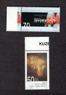 927713893 2007 SCOTT 636 637 POSTFRIS MINT NEVER HINGED EINWANDFREI (XX) PAINTING BY S CAVUSOGLU - Chypre (Turquie)
