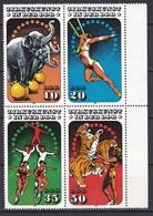 DDR 1985 - Mi.Nr. 2983 - 2986 - Postfrisch MNH - Zirkus Cirkus - Nuevos