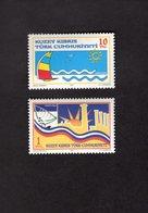 927714670 2005 SCOTT 591 592 POSTFRIS MINT NEVER HINGED EINWANDFREI (XX) TOURISM - Chypre (Turquie)