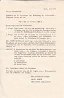 Radio Sofia - Preisausschreiben 1979 - Fragen Gewinne Geschichte  (47022) - Documentos Históricos