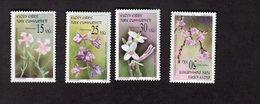 927716077 2005 SCOTT 596 599 POSTFRIS MINT NEVER HINGED EINWANDFREI (XX)  FLOWERS - Chypre (Turquie)