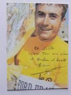 CP - Lucien AIMAR - Signé / Hand Signed / Dédicace Authentique / Autographe - Cyclisme