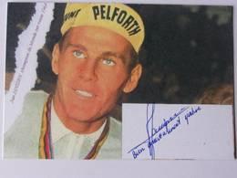CP - Johannes ( Ja N ) Adrianus JANSSEN- Signé / Hand Signed / Dédicace Authentique / Autographe - Radsport