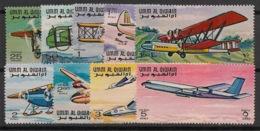Umm-al-Qiwain - 1968 - N°Mi. 296 à 304 - Avions - Neuf Luxe ** / MNH / Postfrisch - Vliegtuigen