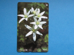 JAPAN PHONECARD NTT 110-011 FLOWERS - Giappone