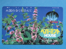 JAPAN PHONECARD NTT 110-011 FLOWERS HOUSE - Giappone