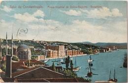 V 60904 - Turchia - Costantinopoli - Costantinople - Salute De Costantinople - Palais Imperial De Dolma Bachte - Bosphor - Turquie