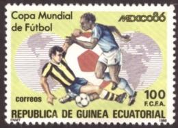Guinée-Equatoriale  1986-  Football World Cup - Mexico 1986 New - Guinée Equatoriale