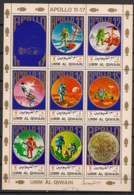 Umm-al-Qiwain - 1972 - KLB N°Mi. 922 à 929 - Apollo 11 / 17 - Neuf Luxe ** / MNH / Postfrisch - Espace