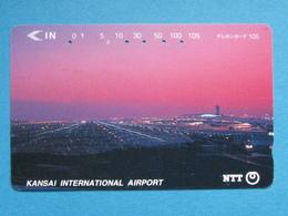 JAPAN PHONECARD NTT 331-379 KANSAI INTERNATIONAL AIRPORT - Giappone
