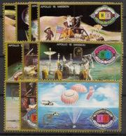 Umm-al-Qiwain - 1972 - N°Mi. 563 à 572 - Espace - Neuf Luxe ** / MNH / Postfrisch - Raumfahrt