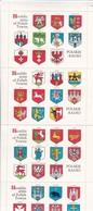 Poland Polen - Polskie Radio - Heraldic Arms Of Polish Towns - Ca. 1980 (47029) - Vignetten (Erinnophilie)