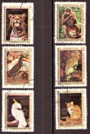 Guinée-Equatoriale  1976- The 200th Anniversary Of The Independence Of The USA - Animals - Guinée Equatoriale
