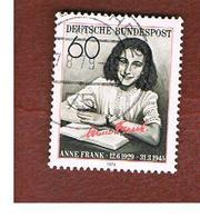 GERMANIA (GERMANY) - SG 1894  - 1979  ANNA FRANK    -  USED - Used Stamps